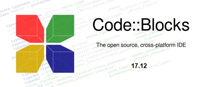 Новая версия Code::Blocks 17.12