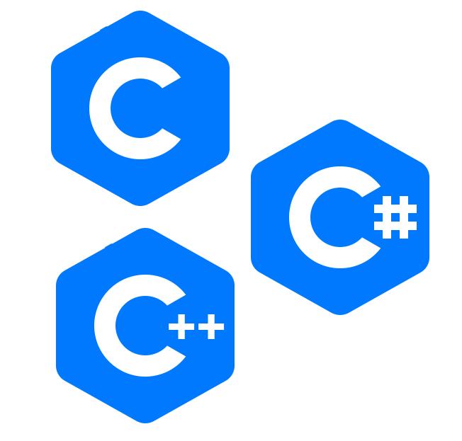 Почему языки C, C++, C# так называются?