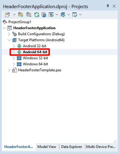 Переключим компилятор на работу с Android
